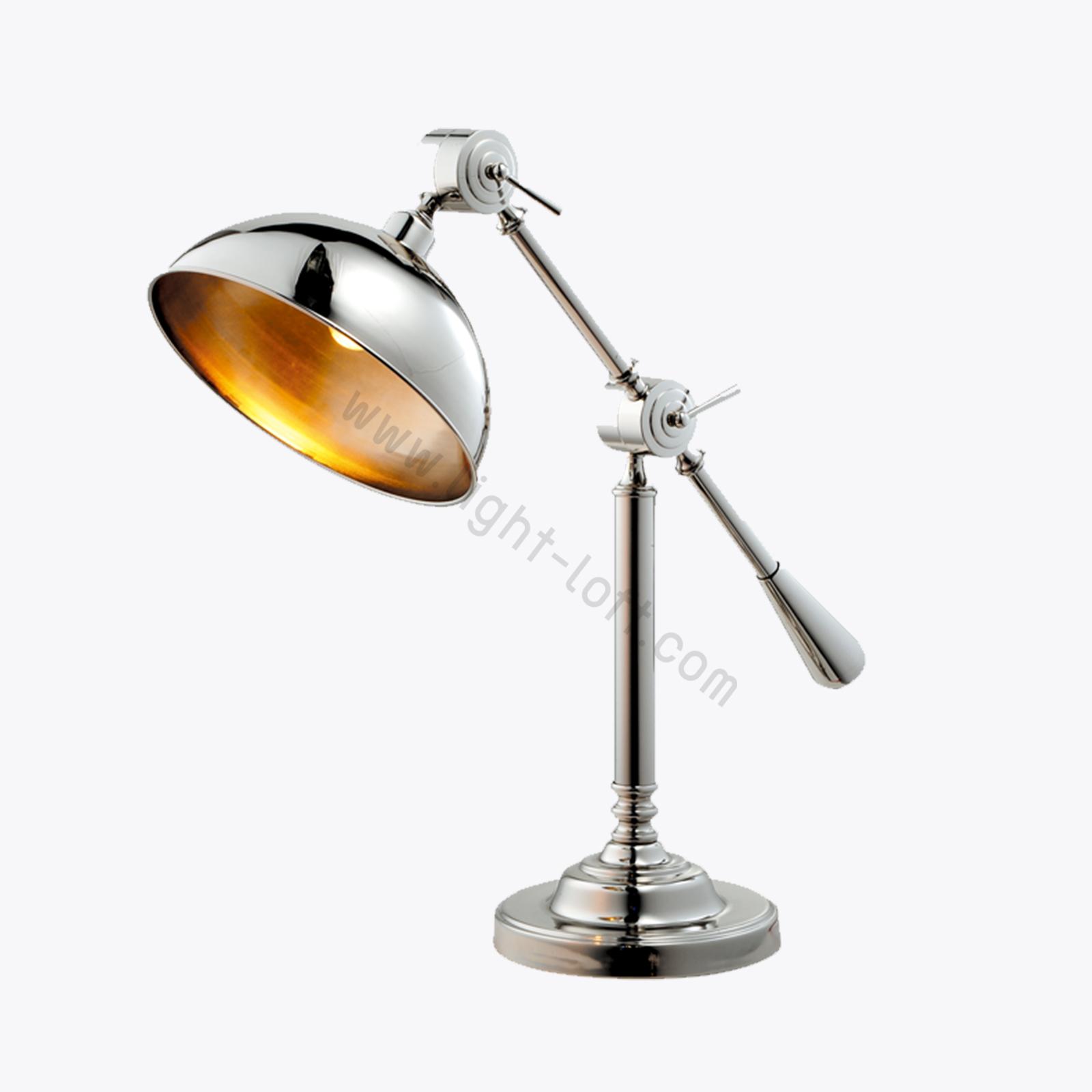 โคมไฟตั้งโต๊ะสีดำ